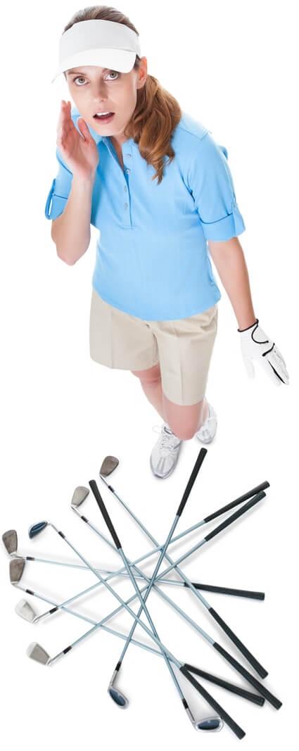Golf Accident